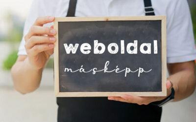 Weboldalkészítés máshogy…
